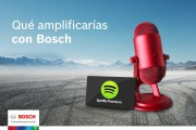 Bosch Automotive Aftermarket regala altavoces y suscripciones a Spotify Premium.