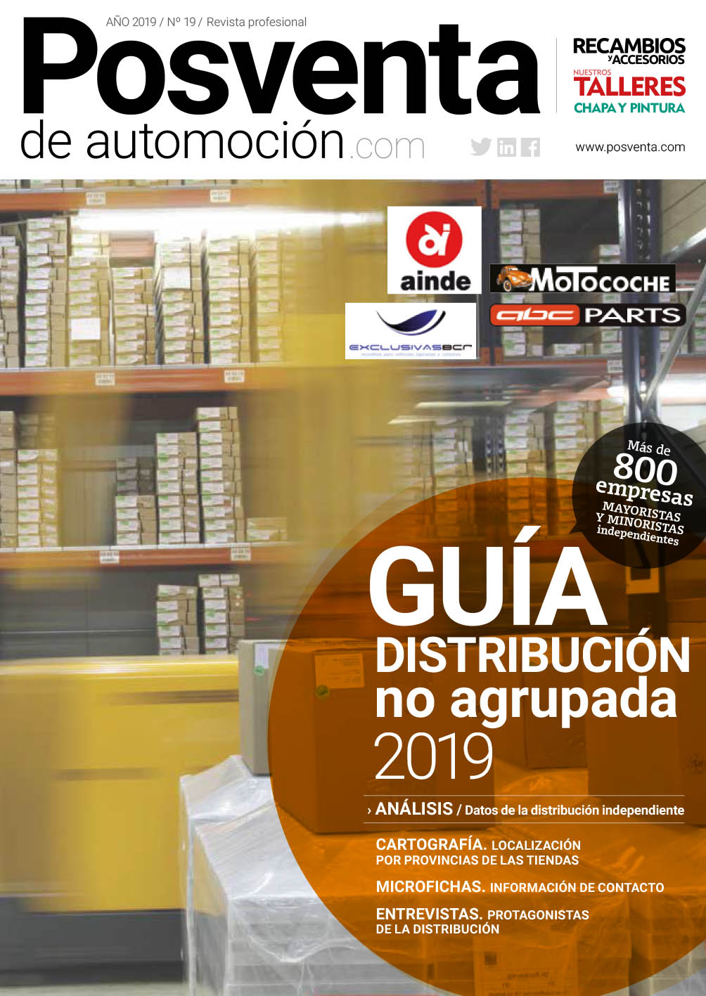 Posventa de automoción, nº 19