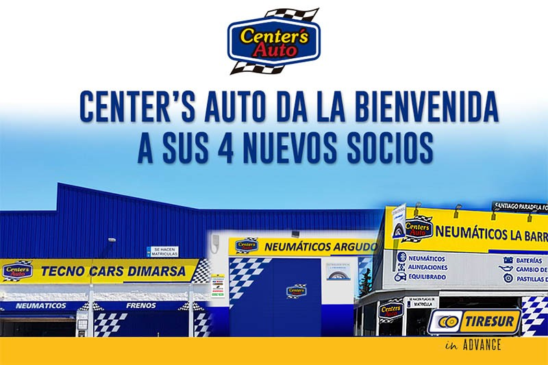 4 talleres se han sumado a la red Center´s Auto